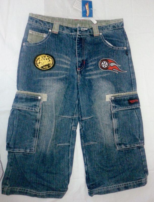 Kraťasy, třičtvrteční kalhoty riflové Hot Wheels