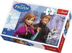 PUZZLE 60 dílků Ledové království (Frozen)