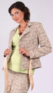 Těhotenské sako kabátek 42
