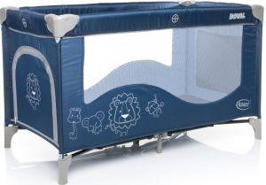 Cestovní postýlka 4Baby Royal - modrá