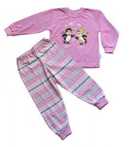Pyžamo Tučňáci na bruslích 86-116