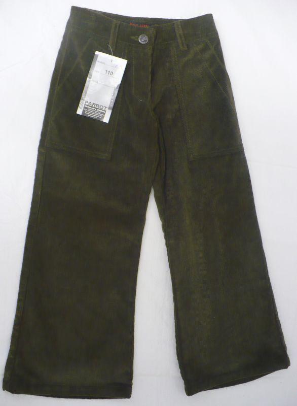 Kalhoty manžestráky manžestrové manšestrové 164 - VÝPRODEJ Parrot