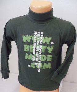 Rolák tričko s dlouhým rukávem 92-98