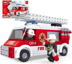Stavebnice HASIČI auto hasičské žebřík