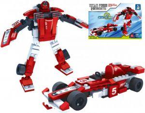 Stavebnice TRANSROBOT 2v1 formule robot