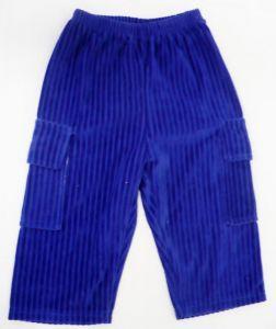 Sametové kalhoty tepláky tepláčky 74