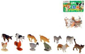 Zvířátka domácí Set 12ks figurek