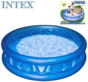 Bazén kónický 188 x 46cm kulatý nafukovací modrý